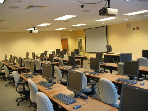 Prior Health Sciences Library Rooms