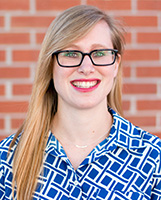 Rebecca McCall, clinical librarian