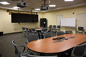 Videoconferencing equipment and tables